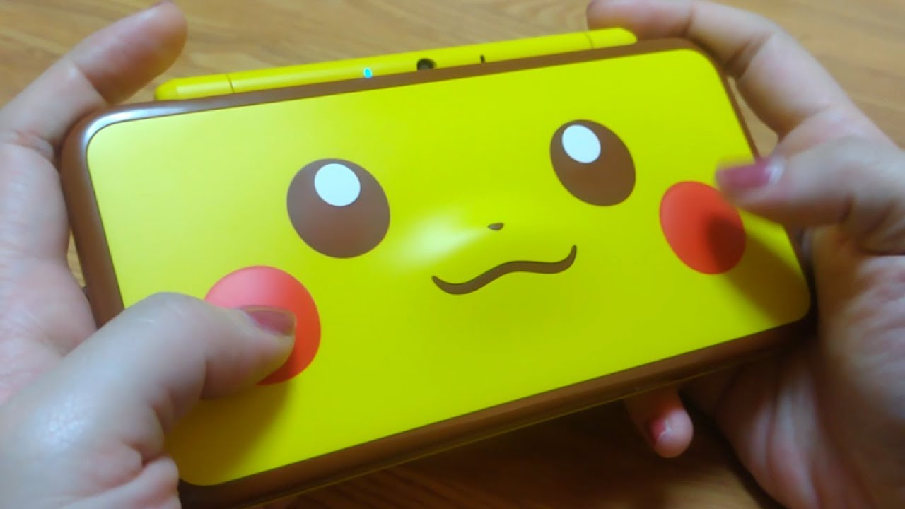 Unboxing The New Nintendo 2ds Xl Ll Pikachu Edition Youtube