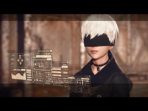 NieR: Automata - Beginning / Boss: Engels (9S Story)