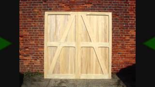 Hardwood wooden garage doors in Idigbo