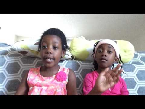 Imaginary twin sisters - Naleigh and Allyna