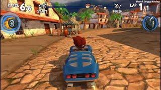 Beach Buggy Racing | Shark Harbor & Crab Cove Tracks | Race Gameplay