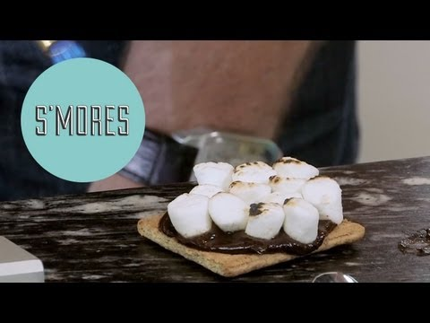 How to Make Indoor S'mores with Dean McDermott - ModernMom's Dad Space