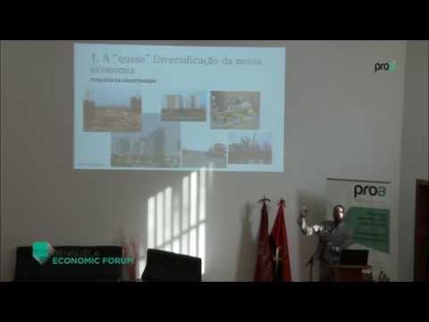 Pilares para Diversificação da economia angolana - Dr. Emílio Londa