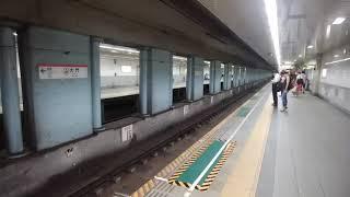 京成3050形 3055編成 アクセス特急 成田空港行 大門駅にて