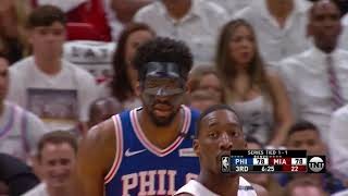 Joel Embiid Scores 23 Points in Return to Lead 76ers Over Heat in Game 3 thumbnail