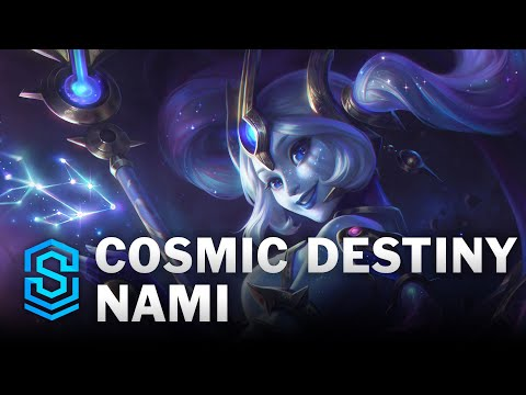 Cosmic Destiny Nami Skin Spotlight - League of Legends