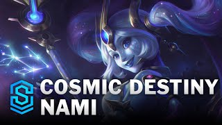 Cosmic Destiny Nami Skin Spotlight - League of Legends