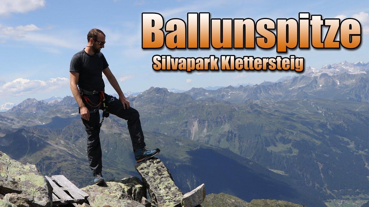 Klettersteig Quebec : Silvapark klettersteig ballunspitze gopro hd youtube