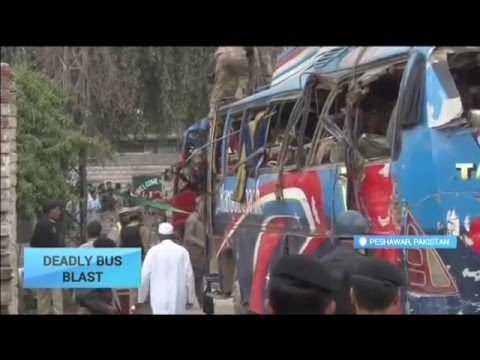 Deadly Bus Blast: Bomb planted on bus of government officials in Pakistan