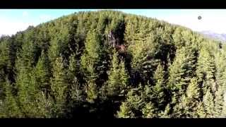 """4K Aerial film """"Taygetos mountain"""""""