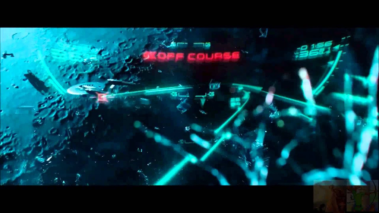 star trek into darkness kirk and khan space jump to