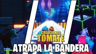 Atrapa la Bandera - Fortnite Creaciones Tomate - Episodio 26