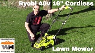 #RyobiOutdoors 40V Lithium Ion Cordless 16