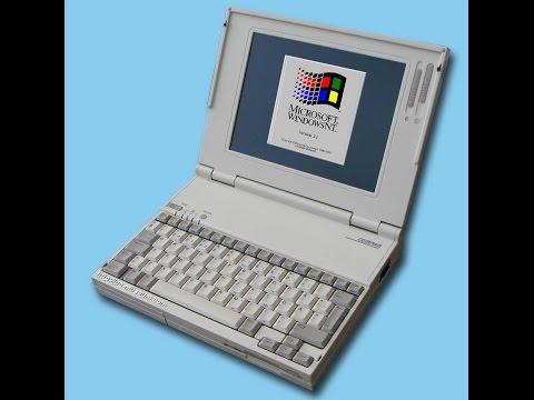 Дедушка ноутбуков - YAkumo  4023 (1995 год)