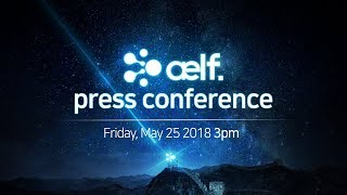 AELF Press Conference Seoul Yeoi-do Glad Hotel 엘프 기자회견 서울 여의도 글래드호텔