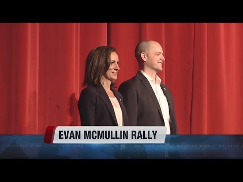 Independent presidential candidate Evan McMullin holds rally in Boise