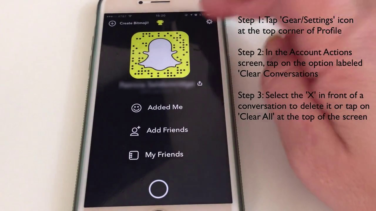 How To Permanently Delete Snapchat History On Iphone
