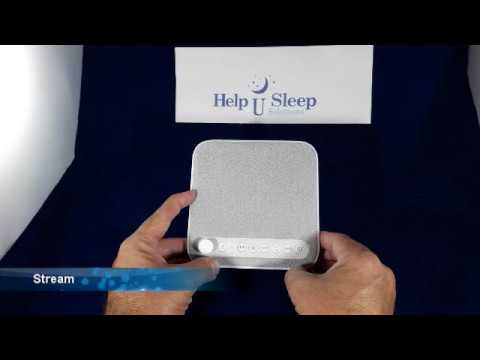 wave premium sleep therapy sound machine review 6 sounds youtube. Black Bedroom Furniture Sets. Home Design Ideas