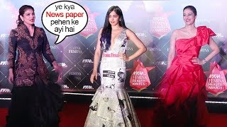 Adah Sharma Gets Trolled for Wearing NEWS PAPER At Femina Awards 2019