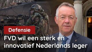 Nederlands leger nog nooit zo zwak! FVD wil NU naar 2%!