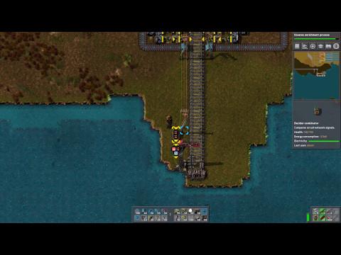 Factorio 0.15 - Smart Train Station Tutorial