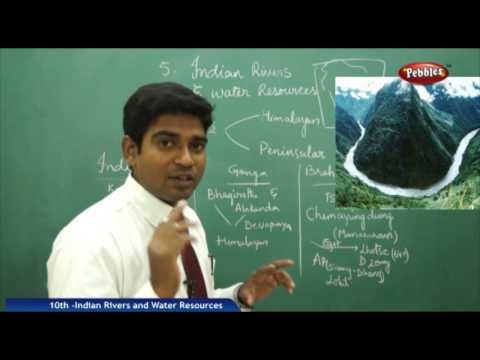 INDIAN RIVERS & WATER RESOURCES - AP & TS Class 10th State Board Syllabus Social Studies
