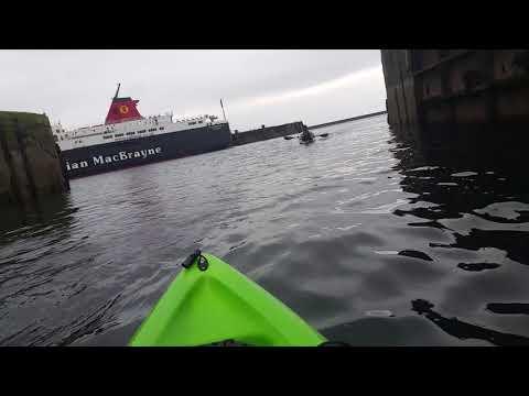 Ardrossan harbour calmac fishing 😂