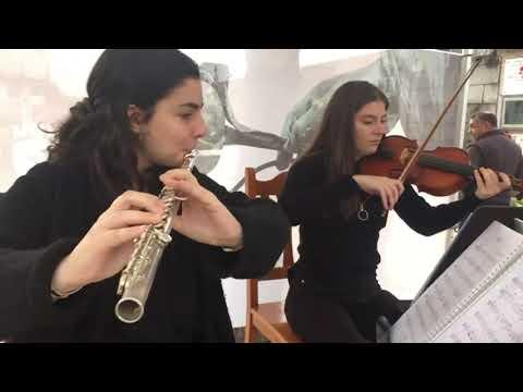La música clásica ameniza el Día de Todos los Santos en el Cemiterio de Rubiáns