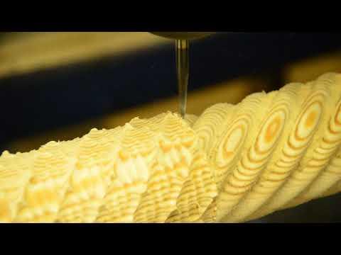 Производство резной балясины на станке ЧПУ
