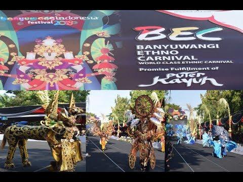 Banyuwangi Ethno Carnival 2018(BEC) Puter Kayun Tampil Lebih Fresh