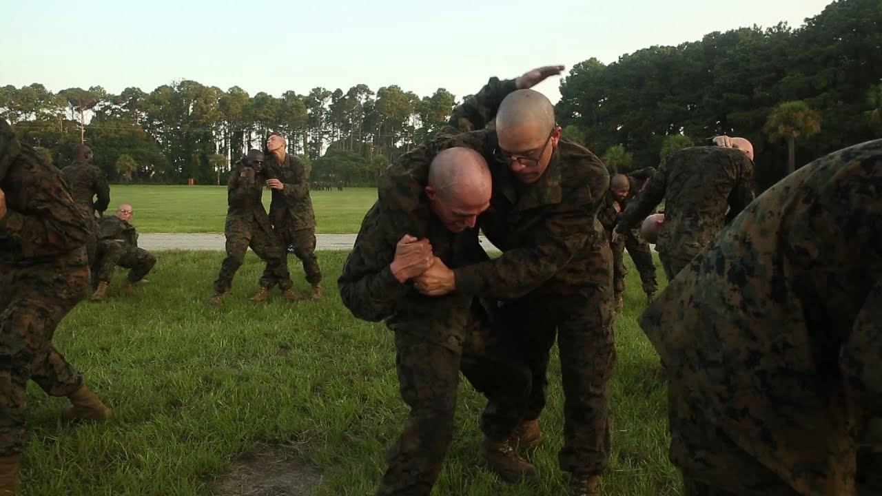 Endurance martial arts at Marine Corps Recruit Depot ...