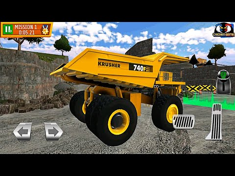Download Quarry Driver 3 Giant Trucks Android Games Car - Full GamePlay EP.1