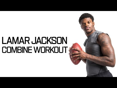 Every Lamar Jackson Throw During Workout! | NFL Combine Highlights