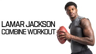 Every Lamar Jackson Throw During Workout! | NFL Combine Highlights thumbnail