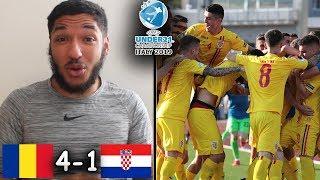 ROMANIA U21 VS CROATIA U21 REACTION | Ianis Hagi & George Puşcaş DOMINATE In 4-1 WIN! (U-21 Euros)