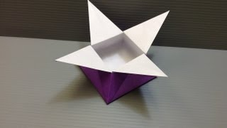 Daily Origami: 024 - Star Box