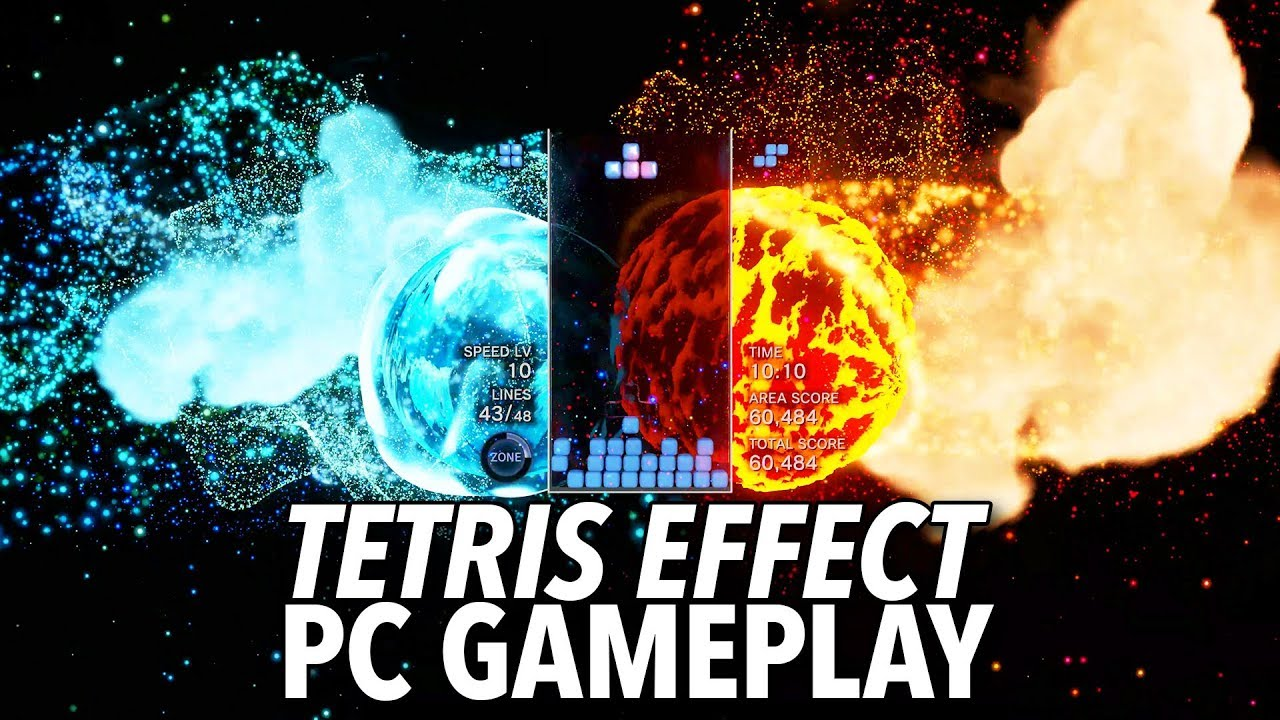 Tetris Effect Looks Stunning On PC