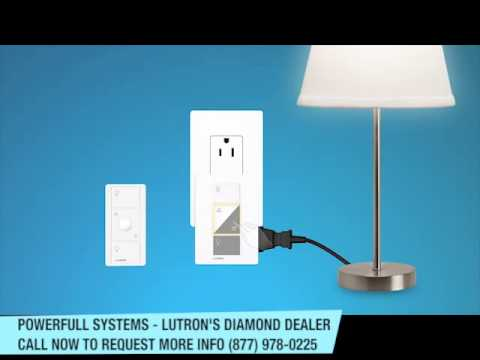 Lutron Caséta™ Wireless plug in lamp dimmer