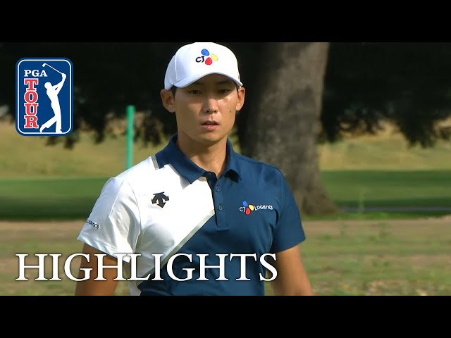 Whee Kim's Round 1 highlights from The Greenbrier 2018