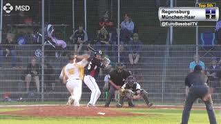BASEBALL BUNDESLIGA: Haar Disciples 3, Buchbinder Legionäre 1 (Suspended 8th inning)