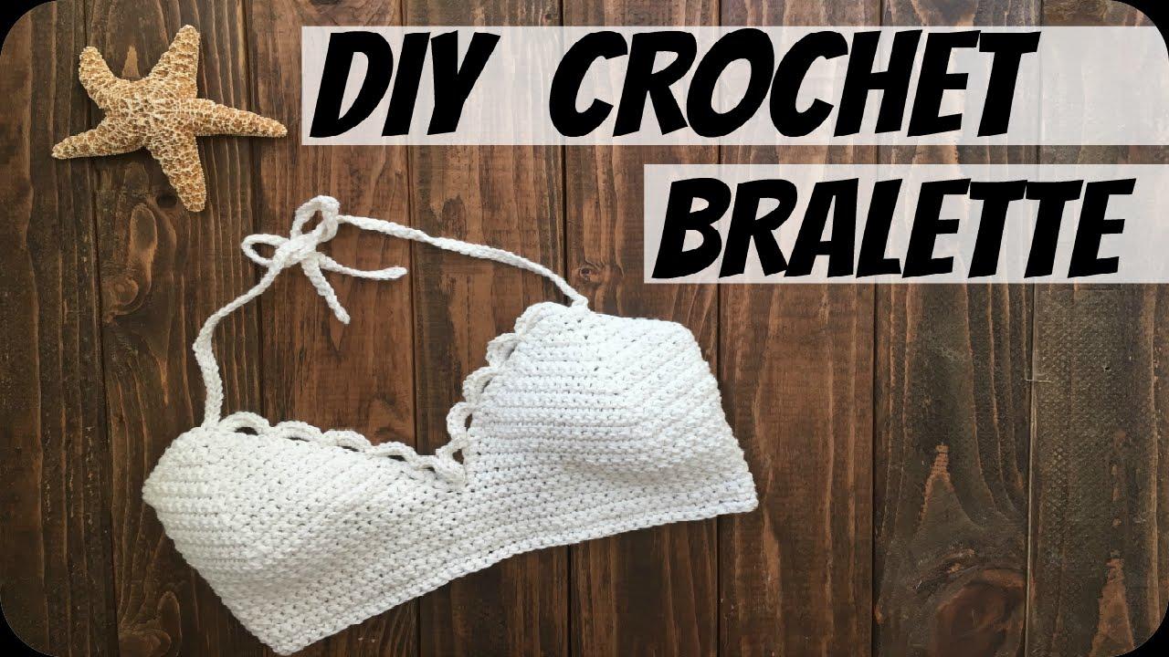 Diy Crochet Top Leonis Bralette Youtube