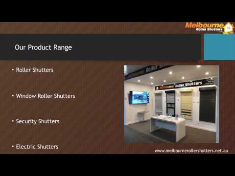 Electric Shutters - Melbourne Roller Shutters
