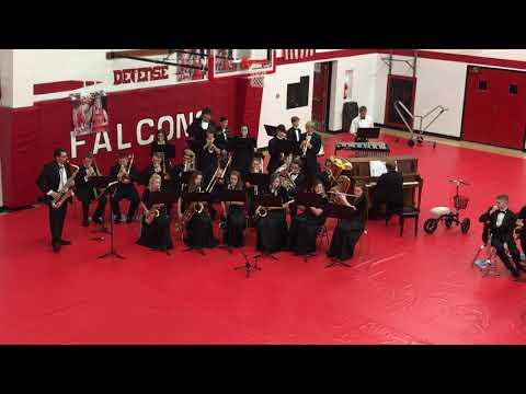 Firelands High School Jazz Band 2-15-18
