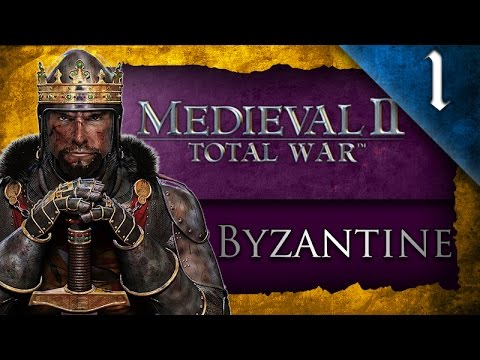 STAINLESS STEEL: MEDIEVAL 2 TOTAL WAR: BYZANTINE EMPIRE CAMPAIGN - EP. 1 - ROMAN EMPIRE!