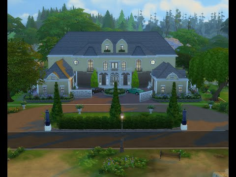 Sims 4 -  luxury mansions Renovation
