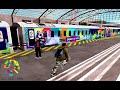 Kereta Api Ber-livery Asian Games Bagian Jawa  Daop  & Sumatera  Divre
