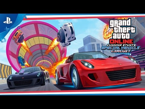 GTA Online - Cunning Stunts: Special Vehicle Circuit Trailer | PS4