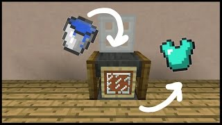 👉Minecraft Pocket Edition : How to build a working Washing Machine
