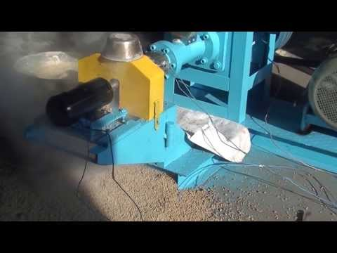 Floating fish feed extruder/Fish feed machine manufacturer