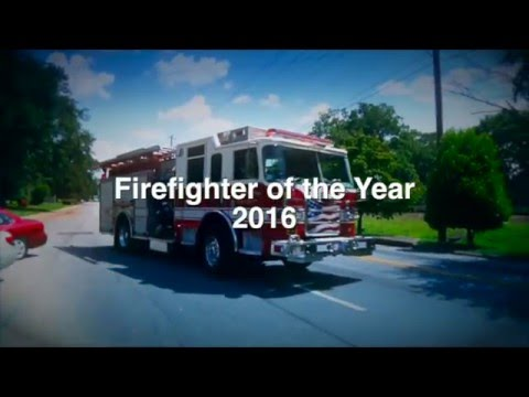 Firefighter of the Year 2016 - Atlanta Airport Rotary Club